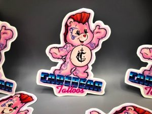 Carebear Tattoos Sticker