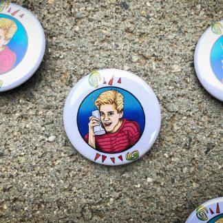 Zack Morris Pinback Button
