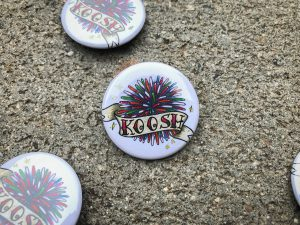 Koosh Ball Pinback Button