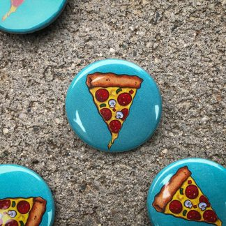 Pizza Pinback Button