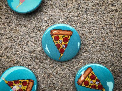 Pizza Pinback Button