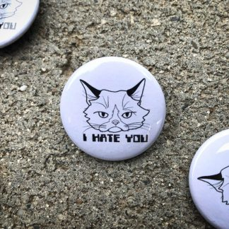 Grumpy Cat Pinback Button
