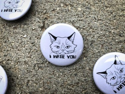 Grumpy Cat Pinback Button