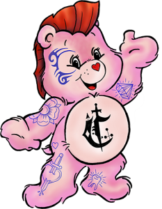 Tattooed Carebear Logo