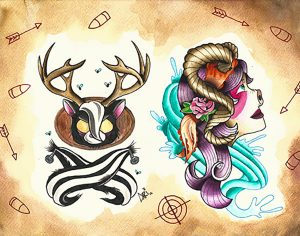 local artist carebear tattoos hunt them down art